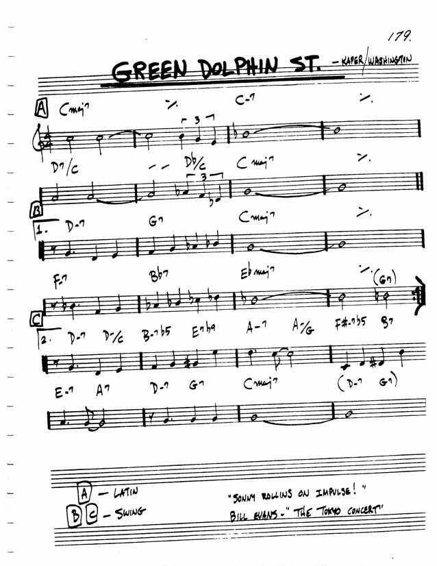 Video Green Dolphin Basic Guitar Chords